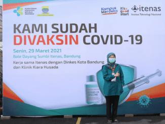 Itenas Melaksanakan Vaksinasi Covid-19