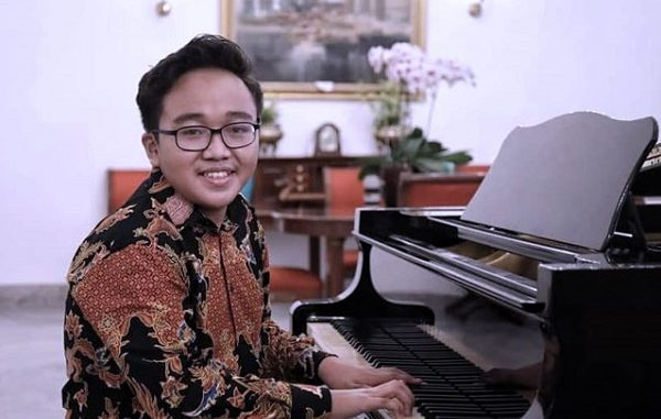Jefri Setiawan, pianis muda asal Bugangin, Kendal, Jawa Tengah