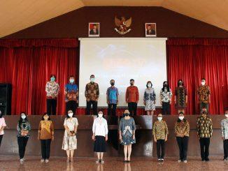 Pimpinan Unit Kerja Penunjang Akademik dan Unit Pelaksana Administasi Masa Bakti 2021 - 2025 Universitas Katolik Widya Mandala Surabaya