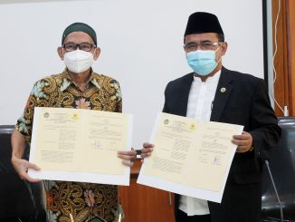 Rektor UNIDA Bogor dan UIKA Bogor