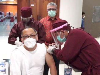 Vaksinasi Covid-19 untuk sivitas Lembaga Ilmu Pengetahuan Indonesia (LIPI) (KalderaNews.com/Dok.LIPI)