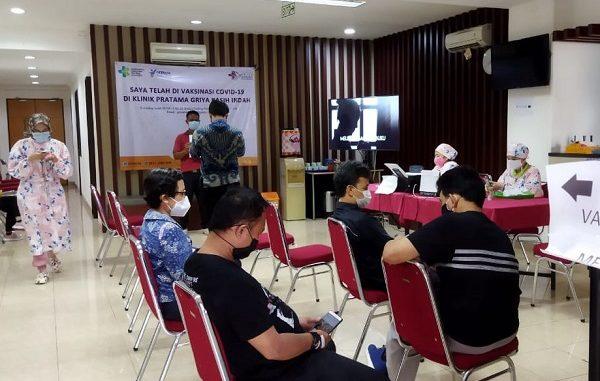 Pelaksanaan vaksinasi pendidik di Jakarta
