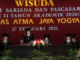 Wisuda Universitas Atma Jaya Jogja