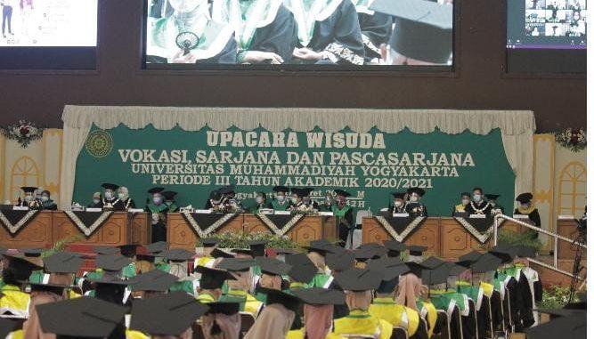 Wisuda Universitas Muhammadiyah Yogyakarta