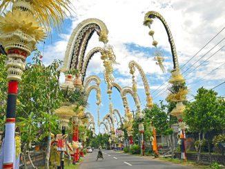 Ilustrasi: Hari Raya Galungan. (KalderaNews.com/Ist.)