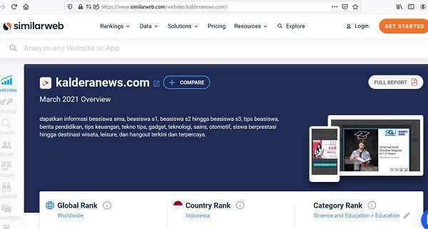 KalderaNews.com di Similarweb