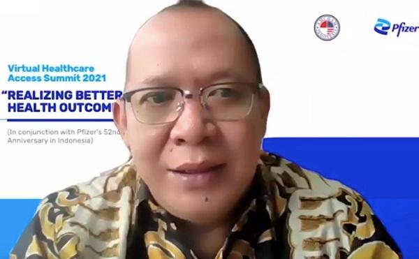 Ketua Dewan Asuransi Indonesia, Hastanto Sri Margi Widodo