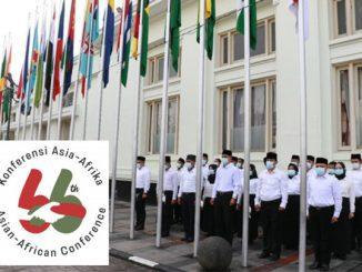 Ilustrasi: Peringatan Konferensi Asia Afrika dan logonya. (KalderaNews.com/Ist)