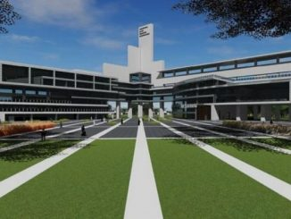 Desain futuristik kampus Universitas Islam Internasional Indonesia (UIII)