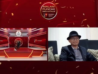 Komika Wira Nagara (Finalis Suci 5) memeriahkan Malam Puncak Dies Natalis Ke-19 ITTP pada Sabtu malam, 29 Mei 2021