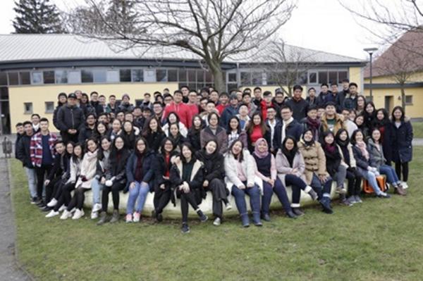 Para mahasiswa program double degree Swiss German University (SGU) di Jerman