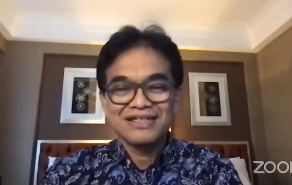 Deputi Bidang Destinasi dan Infrastruktur Kementerian Pariwisata dan Ekonomi Kreatif, Dr. Hari Santosa Sungkari