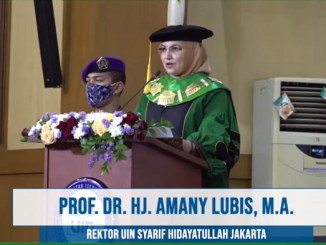 Rektor Universitas Islam Negeri (UIN) Syarif Hidayatullah Jakarta, Prof. Dr. Hj. Amany Burhanuddin Umar Lubis, Lc., M.A.