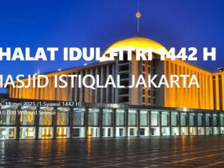 Ilustrasi: Pendaftaran Salat Ied di Masjid Istiqal Jakarta. (KalderaNews.com/Ist)