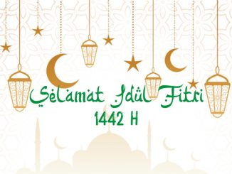 Ilustrasi: Selamat Idul Fitri 2021. (KalderaNews.com/repro: y.prayogo)