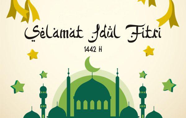 Ilustrasi: Selamat Idul Fitri 2021. (KalderaNews.com/repro:y.prayogo)