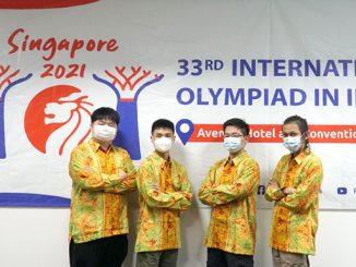 Empat siswa terbaiknya wakil Indonesia pada ajang International Olympiad in Informatics (IOI) ke-33. (KalderaNews.com/Dok. Kemendikbudristek)