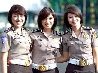 Ilustrasi: Polisi Wanita (Polwan). (KalderaNews.com/Ist.)