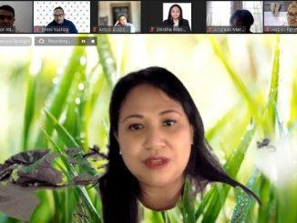 "Jaksa di Kejaksaan Agung, Pudiastuti Citra Adi mengisi kuliah tamu virtual bertajuk ""Dynamics of Counterterrorism in ASEAN"" yang diselenggarakan Paramadina Graduate School of Diplomacy (PGSD), Universitas Paramadina, Jakarta, Sabtu, 12 Juni 2021"