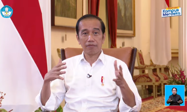 Presiden Joko Widodo. (KalderaNews.com y.prayogo)
