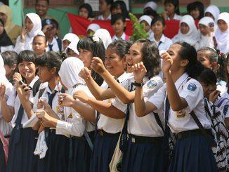 Ilustras: Siswa SMP di Yogyakarta (KalderaNews.com/Ist.)