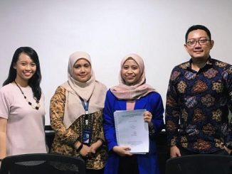 Alumni Universitas Pertamina yang mendapatkan beasiswa kuliah di luar negeri. (KalderaNews.com/Dok. Universitas Pertamina)