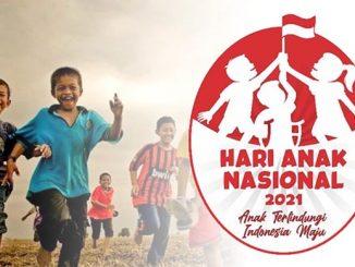 Logo Hari Anak Nasional 2021. (KalderaNews.com/Dok.KPPA)