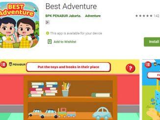 Gim BEST Adventure besutan BPK PENABUR Jakarta di Play Store