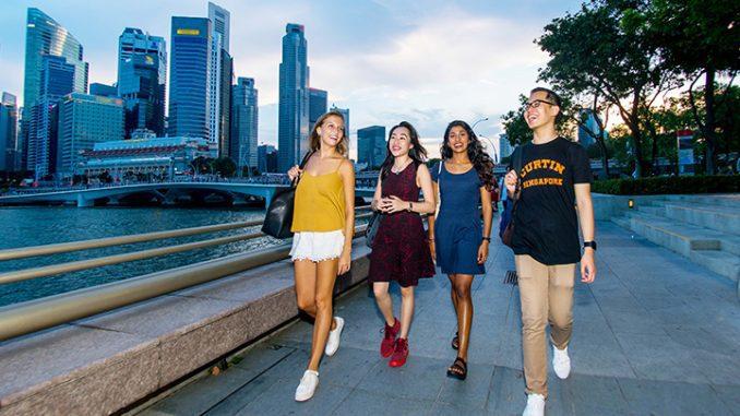 Mahasiswa Curtin University Singapore