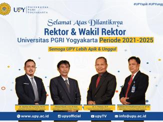 Pelantikan Rektor Baru Universitas PGRI Yogyakarta