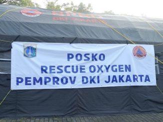 Posko Oxygen Rescue di Monas (