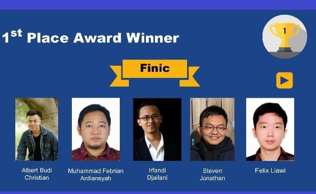 Tim Mahasiswa Indonesia Pemenang GDSIC 2021 di Taiwan