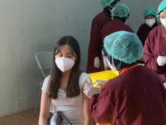 Vaksinasi di Sekolah Cikal Cilandak. (KalderaNews.com/Dok.Sekolah Cikal)