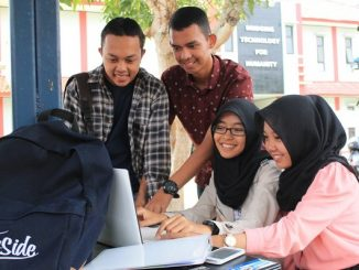 Mahasiswa baru di IT Telkom Purwokerto