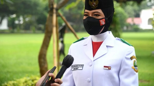 Qyara Maharani Putri perwakilan Provinsi Jawa Barat ini ternyata lahir di Jakarta, 18 Desember 2004