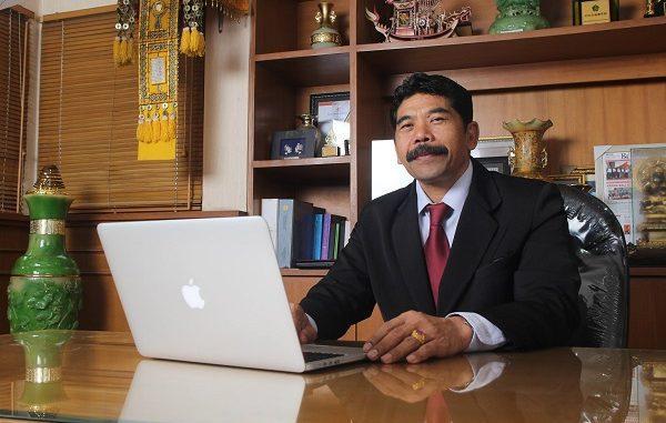 Rektor Universitas Hindu Negeri I Gusti Bagus (UHN IGB) Sugriwa, Prof Dr Drs I Gusti Ngurah Sudiana, MSi