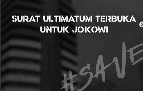 aliansi BEM SI, Presiden Jokowi