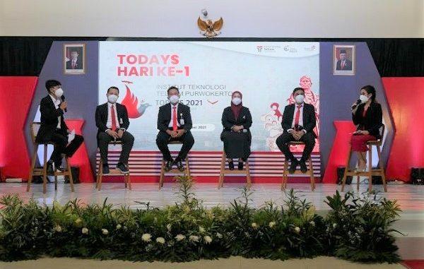 Talkshow Telkom Orientation Days atau yang kita kenal dengan TODAYS 2021 yang diselenggarakan IT Telkom Purwokerto pada Senin, 27 September 2021