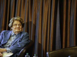 Direktur Pelaksana Dana Moneter Internasional (IMF) yang juga mantan Wakil Presiden Bank Dunia Bidang Ekonomi dan Penelitian asal Amerika, Anne Krueger