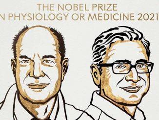 David Julius dan Ardem Patapoutian, pemenang Hadiah Nobel 2021 di bidang kedokteran dan fisiologi. (KalderaNews.com/@NobelPrize)