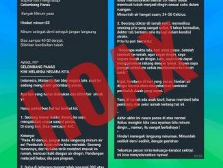Hoax Gelombang Panas di Indonesia