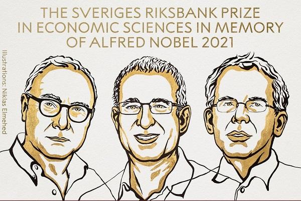 Pemenang Nobel Ekonomi 2021: David Card, Joshua D. Angrist dan Guido W. Imbens