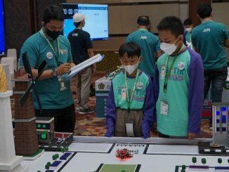 Peserta Kompetisi Robotik Madrasah 2021