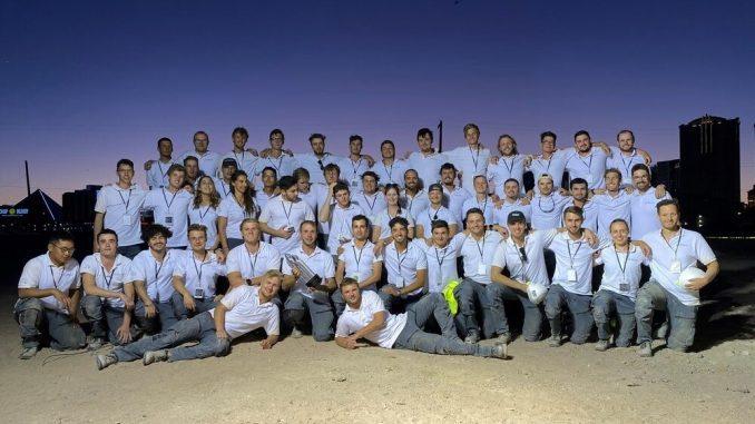 Andreas bersama tim TUM Boring-Innovation in Tunneling. (KalderaNews.com/Dok.Kemendikbudristek)