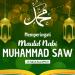 Ilustrasi poster Maulid Nabi Muhammad SAW (KalderaNews/Ist)